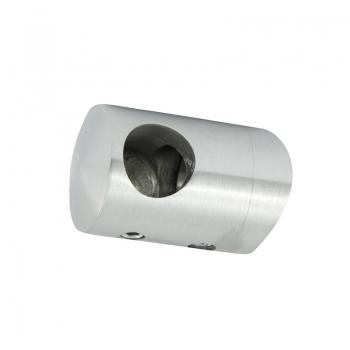 Uchwyt przelotowy boczny lewy  dla pręta Ø 10 / 42.4 mm szlifowany