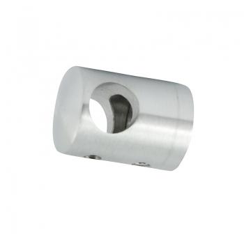 Uchwyt przelotowy boczny dla pręta Ø 12 / profil szlifowany
