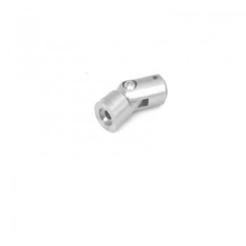 Uchwyt czołowy przegubowy dla rurki Ø12mm / profil