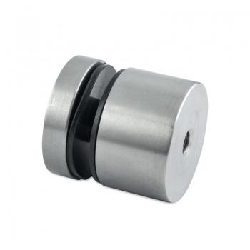 Uchwyt punktowy szkła od 8-16 mm , Ø 50 mm x 20 mm , dla profilu, tulejka otwór przelotowy
