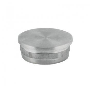 Zaślepka płaska rury Ø 42,4 x 2 mm - wbijana, szlifowana