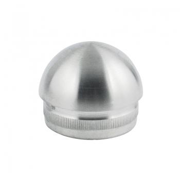 Zaślepka soczewkowa dla rury 50,8 x 1,5 mm - szlifowana