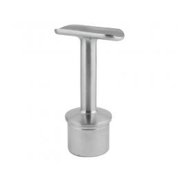 Podpora poręczy Ø 40 mm wklejana w słupek Ø 40 mm - stała, szlifowana, skręcana