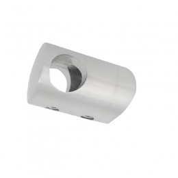 Uchwyt przelotowy boczny dla pręta Ø 16 / 42.4 mm szlifowany