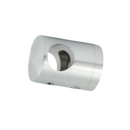 Uchwyt przelotowy boczny dla pręta Ø 16 / profil szlifowany