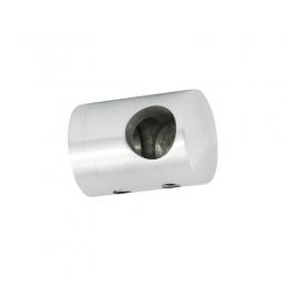 Uchwyt przelotowy boczny prawy dla pręta Ø 10 / profil szlifowany