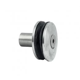 Uchwyt punktowy Ø 60mm z tuleją dystansową 40mm - szlifowany