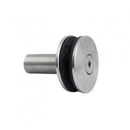 Uchwyt punktowy Ø 60mm z tuleją dystansową 50mm - szlifowany