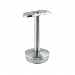 Podpora poręczy Ø 48,3 mm wbijana w słupek Ø 48,3mm - stała, szlifowana
