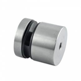 Uchwyt punktowy szkła od 6 do 21,52 mm, Ø 40 mm x 40, dla profilu