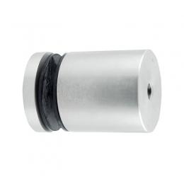 Uchwyt punktowy szkła od 8-16 mm , Ø 50 mm x 50 mm , dla profilu, tulejka otwór przelotowy