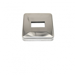 Rozeta kwadratowa 40 x 20 mm - polerowana