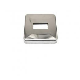 Rozeta kwadratowa 50 x 30 mm - polerowana