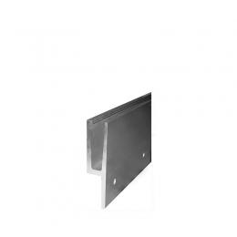 Profil aluminiowy do szkła, mocowanie boczne Y
