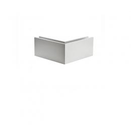 Kątownik aluminiowy zewnętrzny do profila SBS10, ANODOWANY