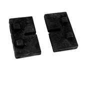 Zestaw gumek do szkła 8 mm (45x45)