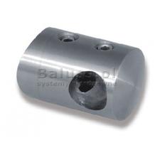 Uchwyt przelotowy boczny dla pręta Ø 12 / 42.4 mm łączny szlifowany