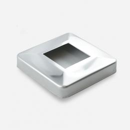 Rozeta kwadratowa 40 x 40 mm - polerowana