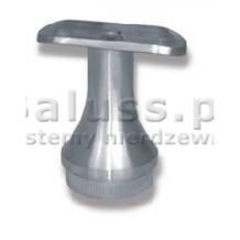 Podpora poręczy dla rury Ø 42,4 mm wklejana w słupek 42,4 mm, stała, stożkowa, szlifowana