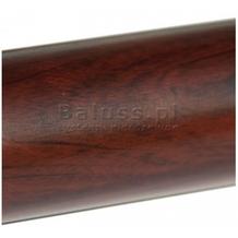 Rura nierdzewna Ø42,4 x 2,0 x 2500 mm malowana proszkowo w efekcie machoń